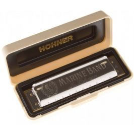 Hohner Marine Band 1896 Db-major Foukací harmonika